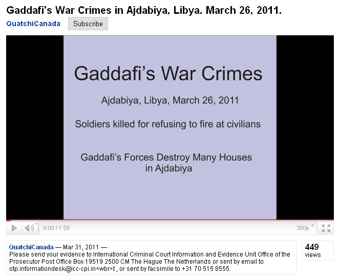 Hidden behind propaganda a giant crime against Libya is fact | Ein ...