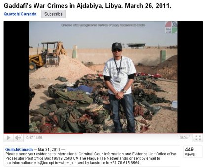 Hidden behind propaganda a giant crime against Libya is fact