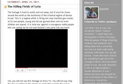Heise macht bei Kriegskampagne gegen Syrien mit