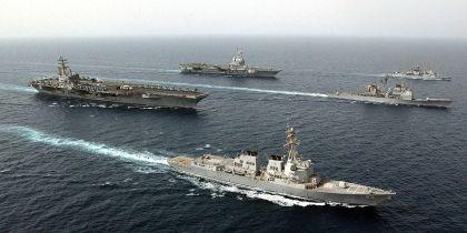 USS Ronald Reagan bedroht Asien