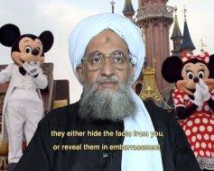 Zawahiri in Disneyland